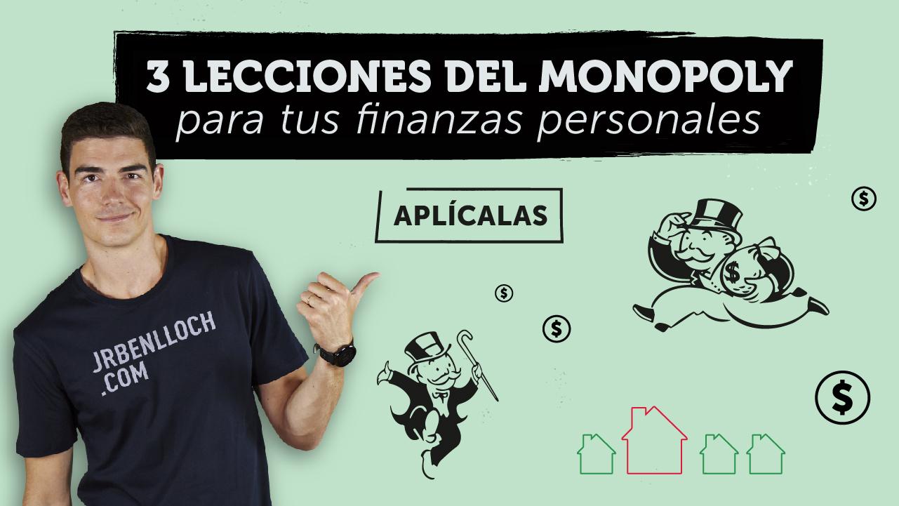 3 Lecciones del Monopoly para tus finanzas personales